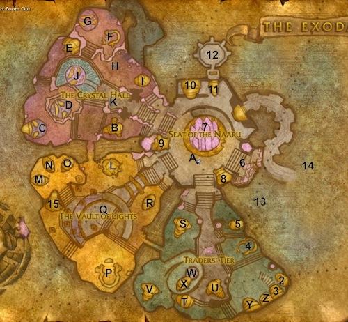 World of Warcraft Maps: Exodar