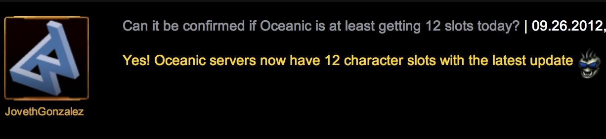 Swtor Character Slots