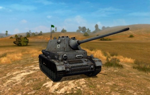 World of Tanks PZ IV